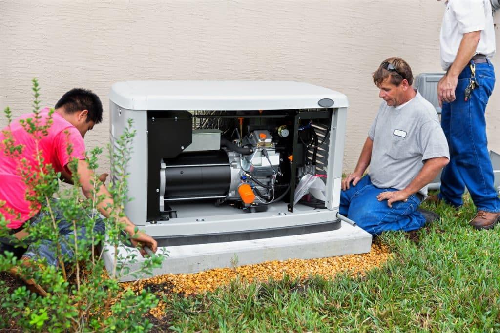 Installing an whole house emergency generator for hurricane season