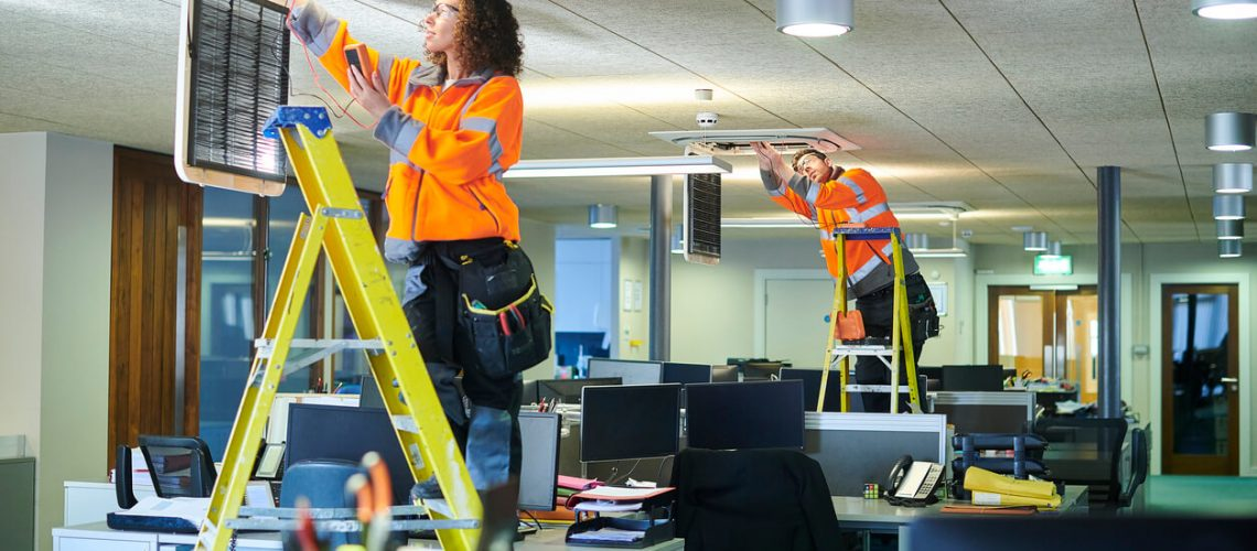 Commercial electrical companies calgary - office aircon servicing