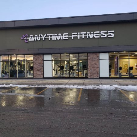 electrician calgary - anytime fitness lighting