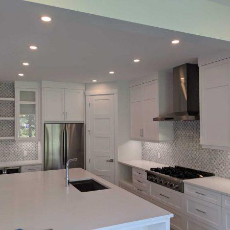electrician calgary - kitchen lighting