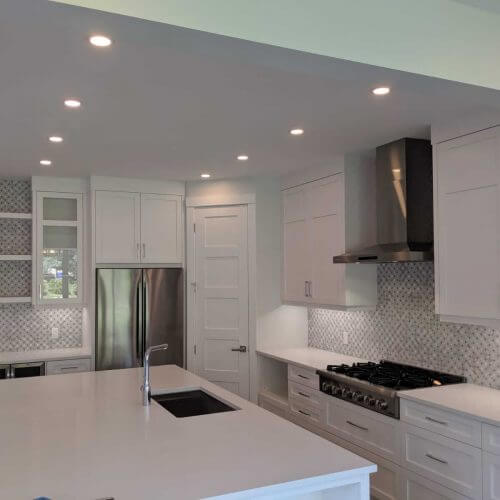 electrician calgary - kitchen lighting