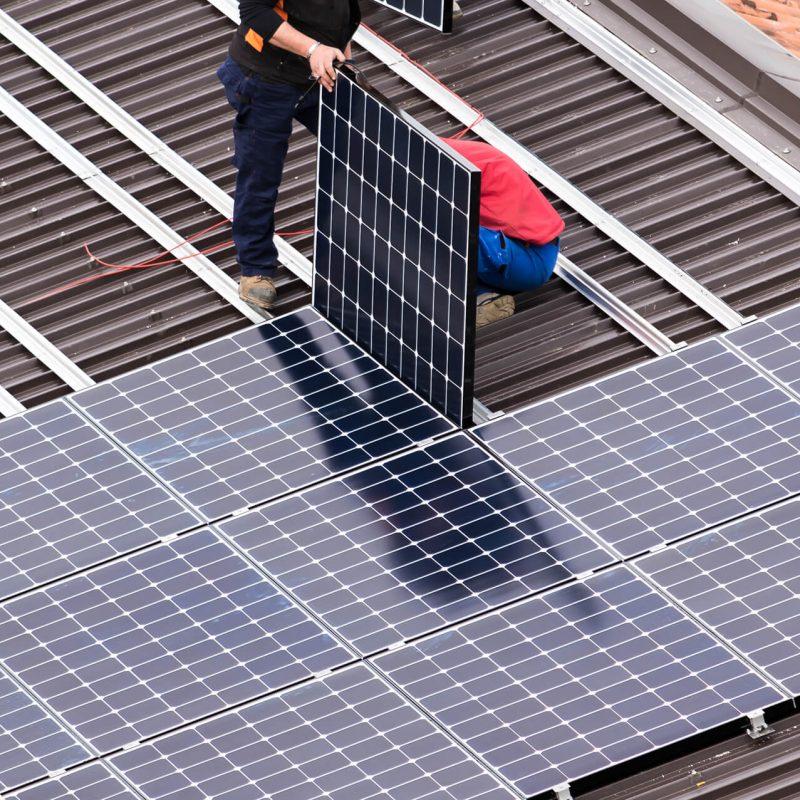 Solar installation calgary